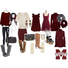 I WANT ALL OF THIS. SERIOUSLY. This would be my wardrobe for an entire football season...