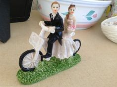 Tandem Bicycle Cake Topper $23