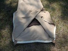Folding a bedroll - another option