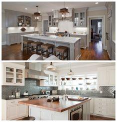 cuisine en ch ne relook e gris clair patine style. Black Bedroom Furniture Sets. Home Design Ideas