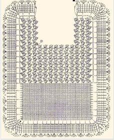Dulcescreacionesdeary Set Of Bathroom Tissue Crochet Baby Bibs, Crochet Girls, Crochet Baby Booties, Crochet Home, Love Crochet, Crochet Clothes, Baby Knitting, Knit Crochet, Filet Crochet