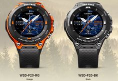 Casio WSD-F20 Smartwatch Adds GPS Functionality - SmartWatch Specifications
