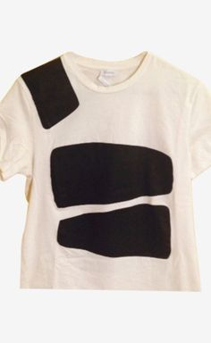Jil Sander Black And White Tee