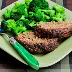 Grain-Free Meatloaf withFlax Seed, Fennel, and Tomatoes, Fennel ( Gluten-Free - Low-Carb) - This healthy meatloaf has lean beef, turkey Italian Sausage, and Roasted Tomatoes and uses flax seed meal instead of breadcrumbs to hold it together