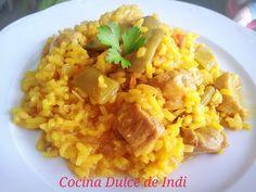 Cocina Dulce de Indi: ARROZ CON MAGRO DE CERDO