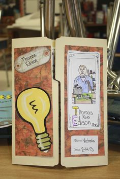Fabulous in Fourth!: Book Reports Inventors Research Brochure
