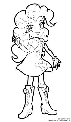 pinkie pie coloring page coloring pages t pinterest pinkie