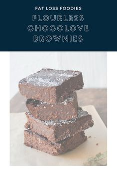 Eat the Chocolate: Flourless Chocolove Brownies — Fat Loss Foodies Fat Loss Drinks, Brownie Ingredients, Sugar Detox, Fat Loss Diet, Baking Supplies, Unsweetened Cocoa, Coconut Sugar, Healthy Sweets, Learn To Cook