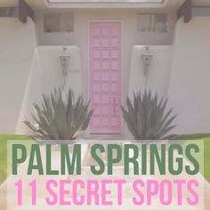 Explore Palm Springs off the beaten path. Discover these 11 secret spots in Palm Springs, ranging… Palm Desert California, Palm Springs California, Hotel California, California Travel, Southern California, Palm Springs Hiking, Palm Springs Style, Map Of Palm Springs, Weird Things