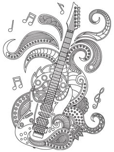 Music Adult Coloring Pages Inspirational 325 Best Music Coloring Pages for Adults Images On Free Adult Coloring Pages, Mandala Coloring Pages, Colouring Pages, Printable Coloring Pages, Coloring Books, Mandalas Painting, Mandala Drawing, Coloring Pages Inspirational, Doodle Art