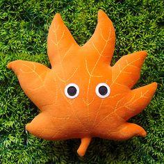 littleoddforest | Leafy (Orange)