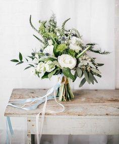 Les créations asymétriques sont complètement dépassées à l'heure actuelle, on leur préfère des rendus nettement moins «rangés».© Pinterest Want That Wedding