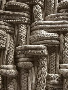 Texture and unique textiles are always interesting to me Textile Texture, Textile Art, Visual Texture, Texture Design, Textiles, Textures Patterns, Color Patterns, Beton Design, Design Design
