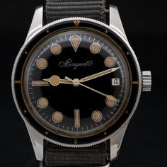 Super Rare Breguet Ref. 1646 Dive Watch #vintage