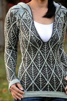 ...Kyllene by Kirsten M. Jensen, as knit by jettshin...!