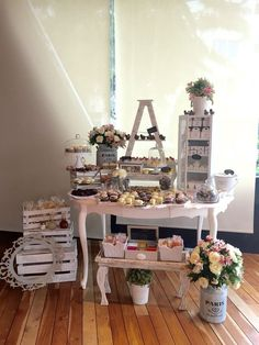 display, dessert table