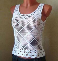 crochet bluse (21) Plus
