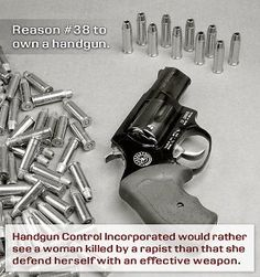 Reason #38 to own a handgun.