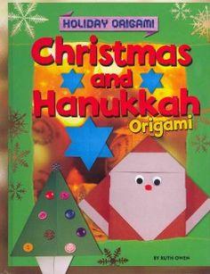 Christmas and Hanukkah Origami (eBook) Origami Yoda, Origami Mouse, Origami Star Box, Origami Dragon, Origami Fish, Origami Stars, Origami Paper Folding, Modular Origami, Christmas Origami
