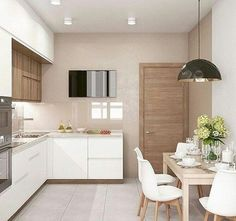 Fantastic modern kitchen room are offered on our internet site. Have a look and you wont be sorry you did. Kitchen Room Design, Kitchen Sets, Modern Kitchen Design, Home Decor Kitchen, Interior Design Kitchen, Kitchen Furniture, New Kitchen, Home Kitchens, Interior Modern