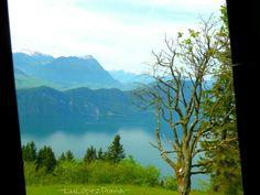 Lago cuatro cantones Suiza