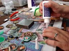 5 ideas for using bottle caps from @CraftsWeekly