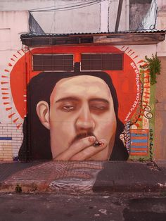 Street art in Palermo - Buenos Aires, Argentina