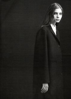 Mariya Markina photographed by Willy Vanderperre for Jil Sander Fall 2006 campaign