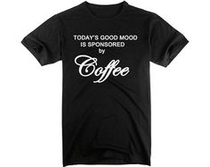 Coffee Graphic Humor Tee Awesome Idea For Men's by ZhengTshirt, $18.00
