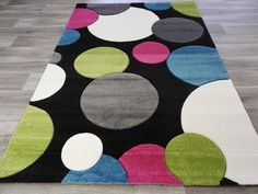 Modern Multi Colour Circle Turkish Rug Size: 160 x Rug Size, Kids Rugs, Colour, Texture, Modern, Home Decor, Color, Surface Finish, Trendy Tree