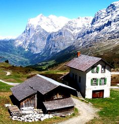 Kleine Scheidegg, Canton of Bern, Switzerland.  Photo: geoftheref, via Flickr