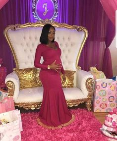 [Maternity Fashion] Fashion Guide For New Mothers -- Continue with the details at the image link. Fiesta Baby Shower, Baby Shower Parties, Baby Shower Themes, Shower Ideas, Pregnancy Goals, Pregnancy Photos, Baby Momma, Baby Love, Pretty Pregnant