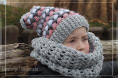 Crochet scarf and beanie