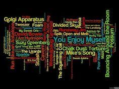 Many, many Phish tunes.