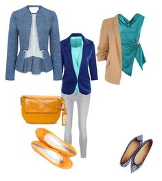 """""""At work"""" by csernus-farkas-agota on Polyvore featuring J Brand, River Island, WithChic, 10 Crosby Derek Lam, Paolo Shoes and Talbots"""