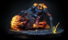 Warhammer Figures, Warhammer Models, Warhammer 40k Miniatures, Warhammer Paint, Miniaturas Warhammer 40k, Spirit Of Vengeance, Pauldron, Game Workshop, Warhammer 40000