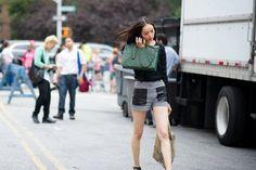 Street Style NYFW - Amazing shorts!