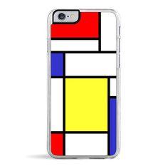 Mondrian - iPhone 6 Clear Case