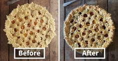 Baker Shows Before & After Pics Of Her Awesome Pie Crusts, And The Result Is Too Pretty To Eat | Bored Panda