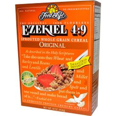 Ezekiel Organic Sprouted 100% Whole Grain Cereal