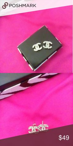 Make offer. Must Go. C.hanel Rhinestone  Earrings NWOT Chanel  Rhinestone Stud Earrings. Beautifully inspired. Amazing quality. Price reflects auth. Comes with generic box. Shop my closet for more deals. Bundle and save. Reasonable offers considered. Happy Poshing. Jewelry Earrings