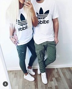 "half off 6dc8f b9c6c Fashion Active on Instagram  ""Matching outfits with your love 😍🔝 Via   fashiionvogue """