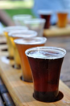 Beer Tasting Paddle---great summer party