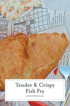 Fish Fry Recipe - Beer Battered Fish for Fish and Chips Seafood Dishes, Fish And Seafood, Seafood Recipes, Cooking Recipes, British Fish And Chips, Beer Battered Fish, Fried Fish Recipes, Fish Fry, Breakfast Dishes