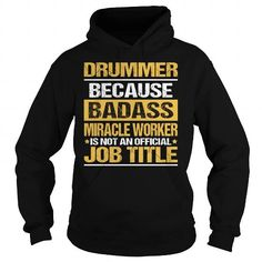Awesome Tee For Drummer T Shirts, Hoodies. Check Price ==► https://www.sunfrog.com/LifeStyle/Awesome-Tee-For-Drummer-93866397-Black-Hoodie.html?41382 $36.99