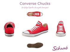 #Converse #Chucks sind die wohl bekanntesten Schuhe der Welt.