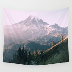 Mt. Rainier National Park Wall Tapestry