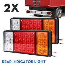 Red Led Light Switch Boat Trailer Hauler Marine Great Lake River Bay Sea Water