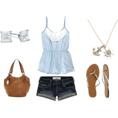 Blue, blue summer, created by ohsnapitsalycia