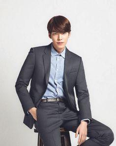 Kim Woo Bin for Hanajirushi